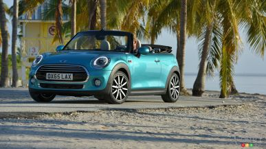 Say hello to the new MINI Convertible