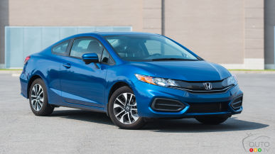 2015 Honda Civic EX Coupe Review