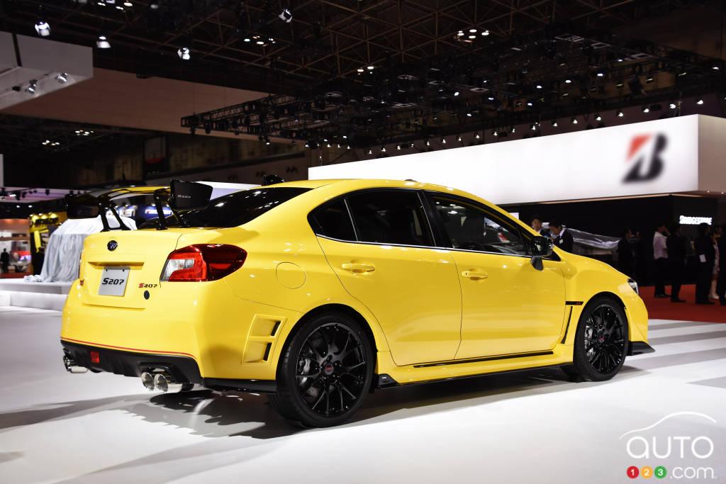 Tokyo Motor Show: Subaru WRX STI S207 Limited Edition
