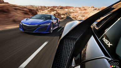 2017 Acura NSX official specs revealed at last!