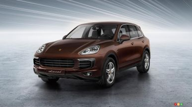 Porsche Canada stops Cayenne Diesel sales amid emissions scandal