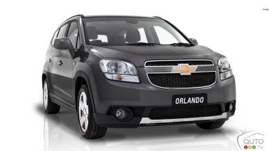 Over 10,000 Chevrolet Orlando crossovers recalled in Canada