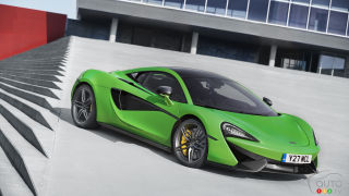 McLaren starts Sports Series production