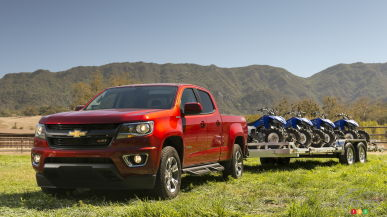 Chevrolet Colorado diesel and GMC Canyon diesel on sale this fall