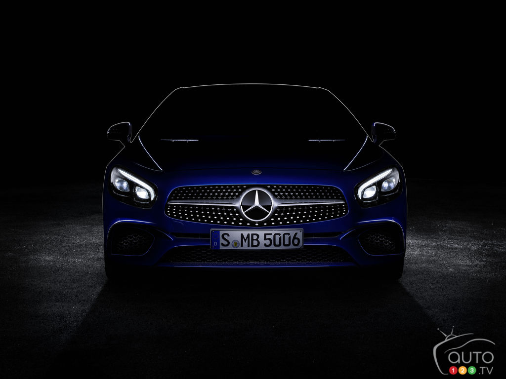 New Mercedes-Benz SL-Class teased ahead of Los Angeles Auto Show