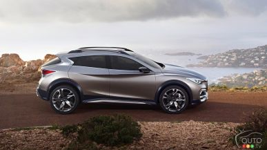 New Infiniti QX30 all set for world premiere in Los Angeles