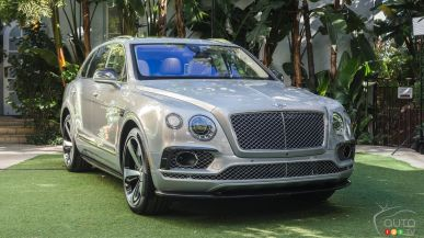 Bentley launches Bentayga First Edition with 608 units planned