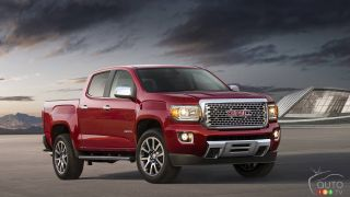 Los Angeles 2015: Premiere of 2017 GMC Canyon Denali
