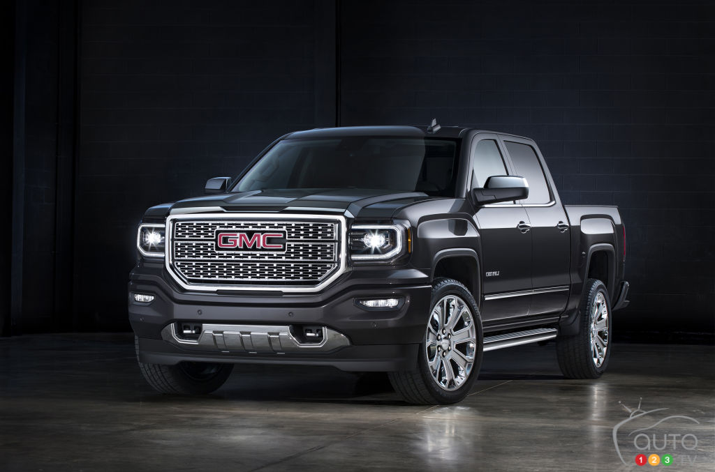 2016 gmc sierra denali ultimate unveiled in l a car. Black Bedroom Furniture Sets. Home Design Ideas