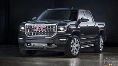 Los Angeles 2015: GMC Sierra Denali Ultimate reaches new heights