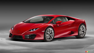 Los Angeles 2015: World premiere of Lamborghini Huracàn LP 580-2