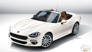 Los Angeles 2015: Fiat 124 Spider is a blast from the past