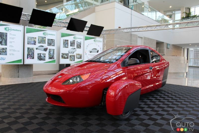 Los Angeles 2015: Elio Motors P5 prototype unveiled