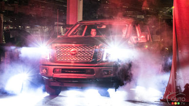All-new Nissan TITAN XD full-size pickup production begins