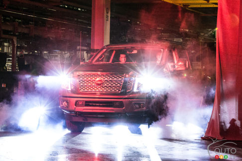 {u'en': u'The first 2016 Nissan Titan XD off the line'}