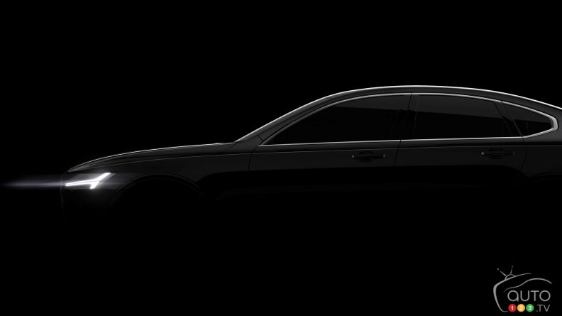 2017 Volvo S90 to be unveiled online December 2nd