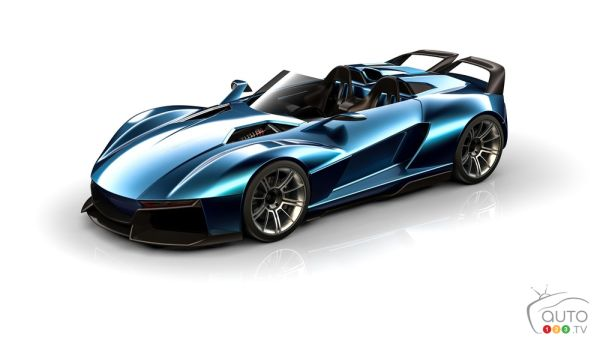 Meet the 700-HP Beast-X Speedster