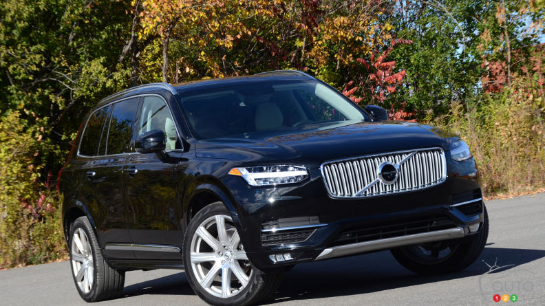 2016 Volvo XC90 T6 AWD Inscription Review