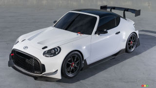 Toyota S-FR Racing concept races to Tokyo Auto Salon
