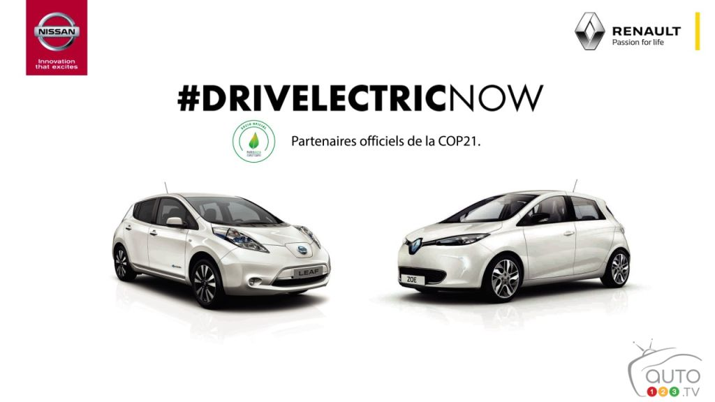 COP21 marks first-ever joint Renault-Nissan ad campaign
