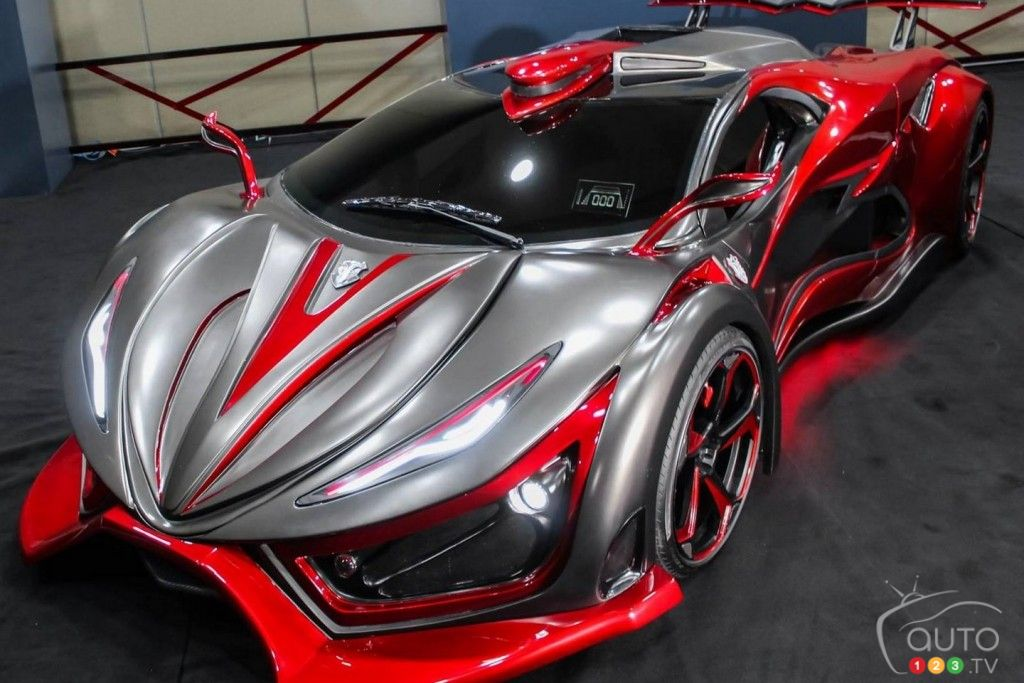 Inferno, the first Mexican supercar, puts out 1,400 hp!