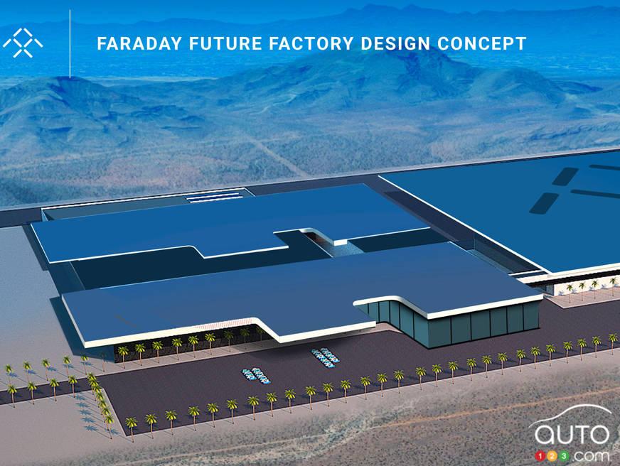 faraday future envisage d ouvrir une usine au nevada actualit 233 s automobile auto123