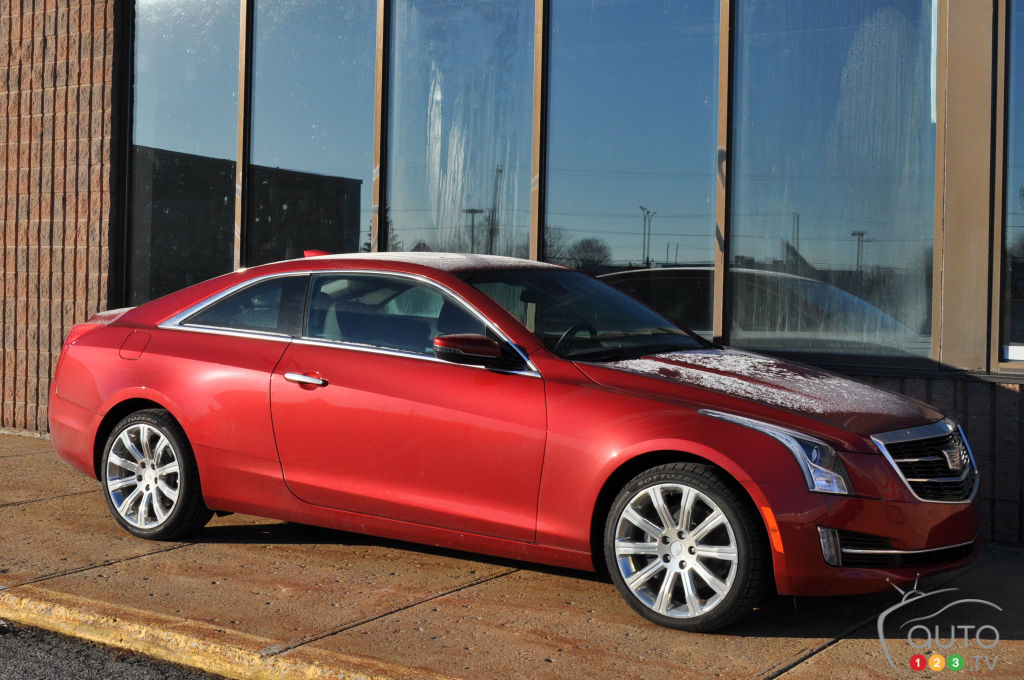 Cadillac Ats Coupe For Sale >> The 2016 Cadillac ATS Coupe 2.0L Turbo means business | Car Reviews | Auto123