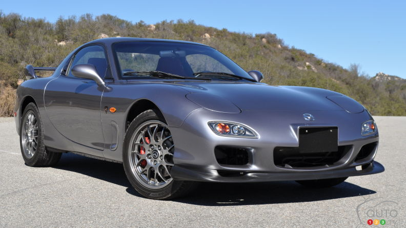 2002 Mazda RX-7 Spirit R Type A review