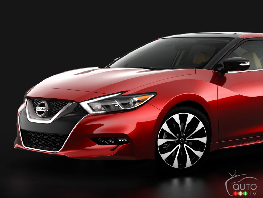 next generation 2016 nissan maxima set for new york auto show debut car news auto123. Black Bedroom Furniture Sets. Home Design Ideas