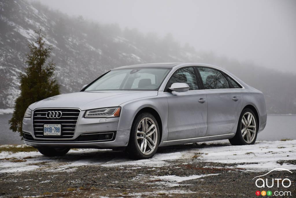Audi A8 L TDI 2015 : essai routier