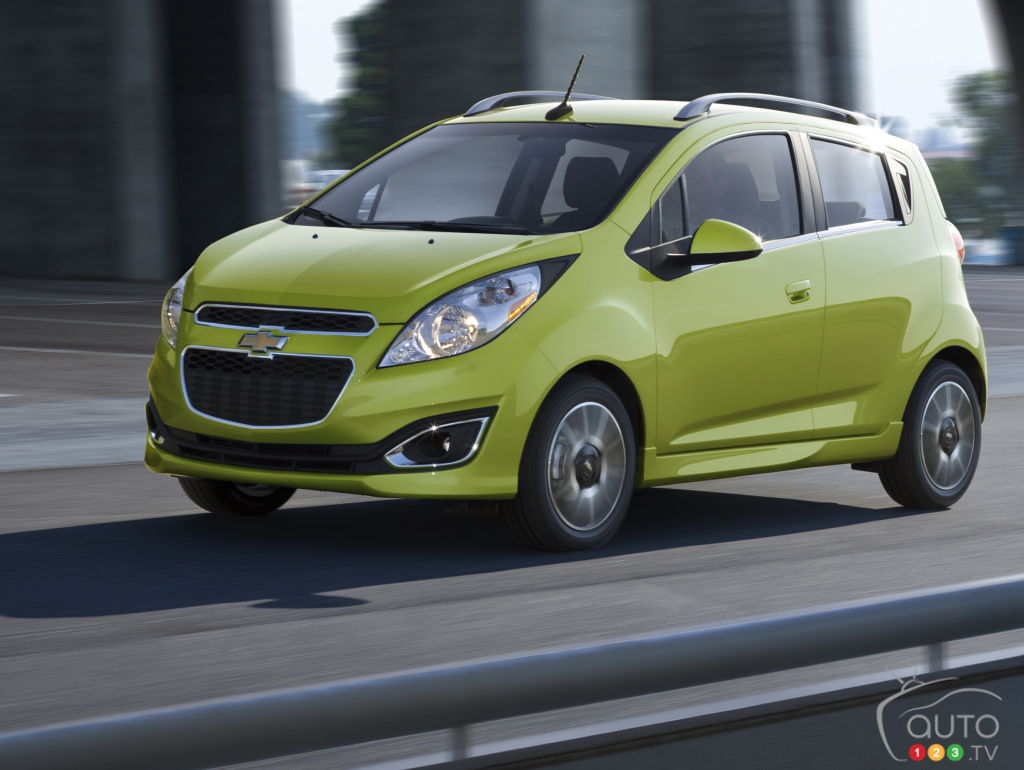 chevrolet spark 2015 aper u nouvelles auto123. Black Bedroom Furniture Sets. Home Design Ideas