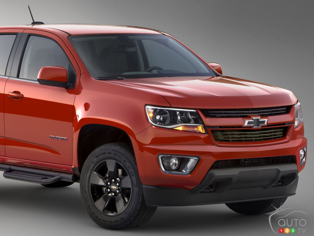 Chevrolet launches 2015 Colorado GearOn Special Edition | Car News ...