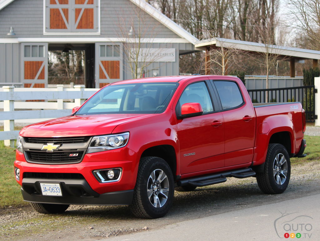 Cool 2015 Chevrolet Colorado Review  Car News  Auto123