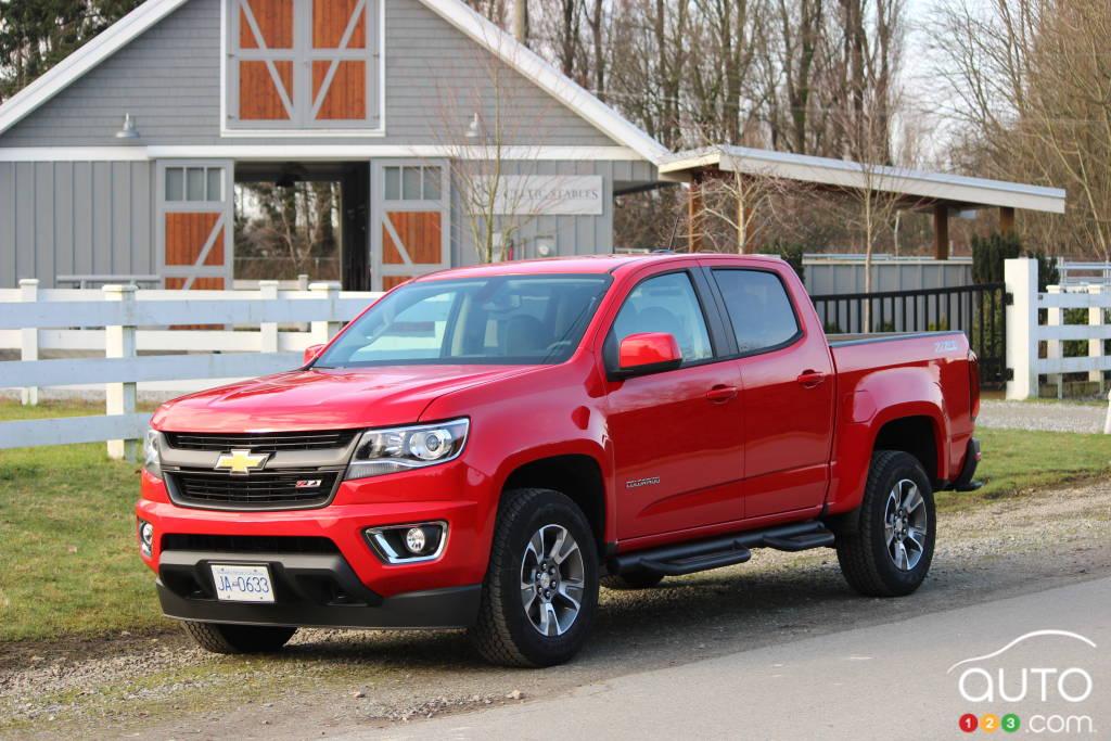 Chevrolet Colorado 2015 : essai routier