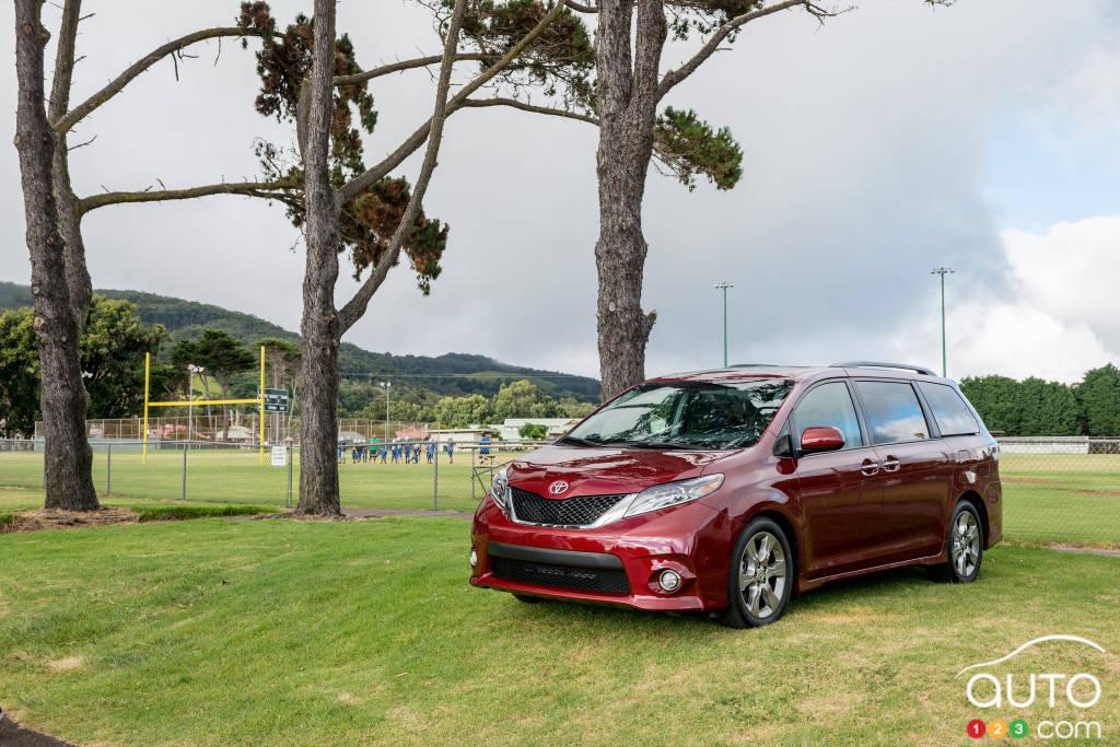 Toyota Sienna SE 2015 : essai routier