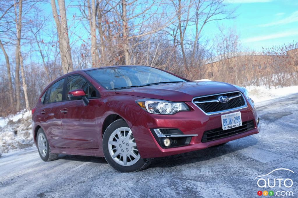 Subaru Impreza 2.0i Limited 5 portes 2015 : essai routier