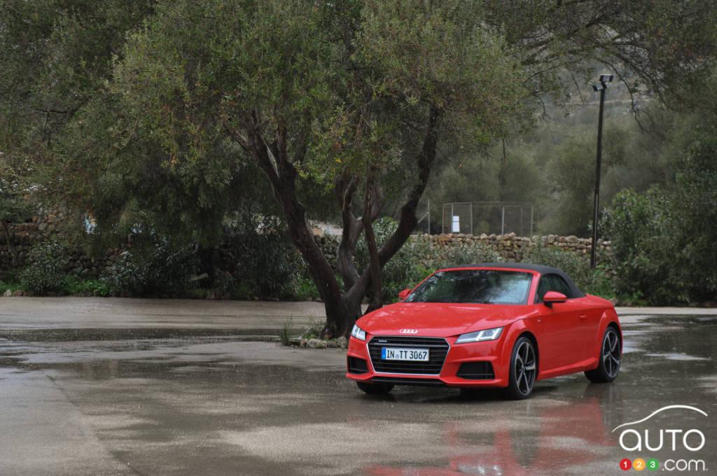 Audi TT/TTS Roadster 2016 : premières impressions