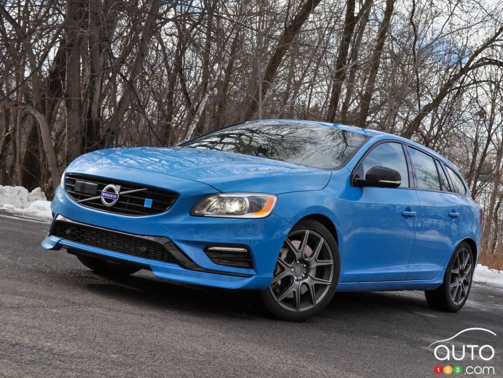 Amazing 2015 Volvo V60 Polestar Review Editor39s Review  Auto123