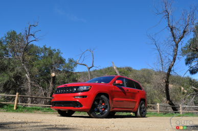 2015 Jeep Grand Cherokee SRT Red Vapor Review