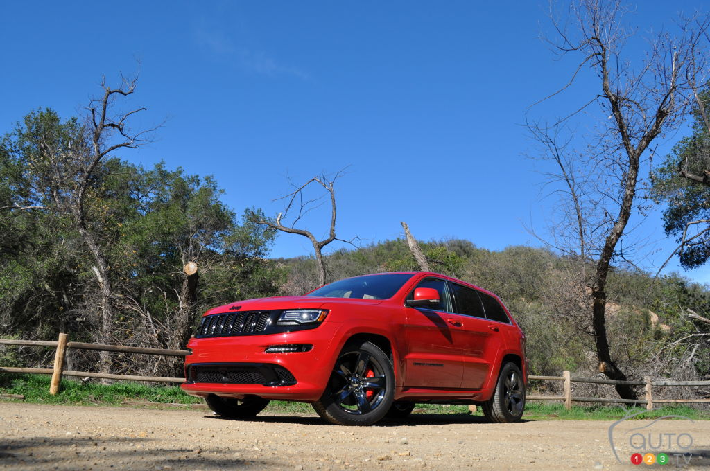 Jeep Grand Cherokee SRT Red Vapor 2015 : essai routier