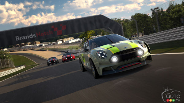 MINI Clubman Vision Gran Turismo delivers 389 hp!