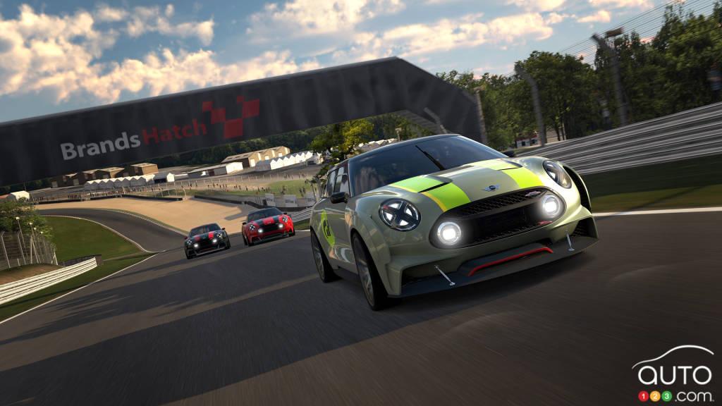 MINI Clubman Vision Gran Turismo : une puissance de 389 chevaux