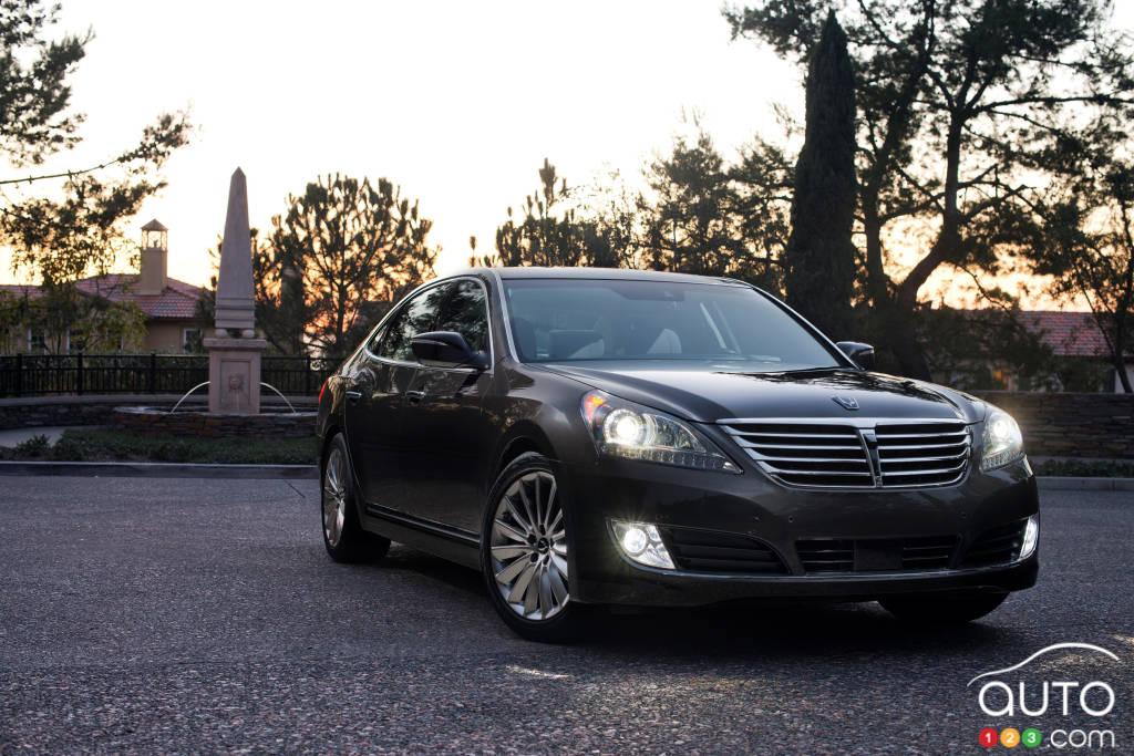 Hyundai Equus 2015 : aperçu