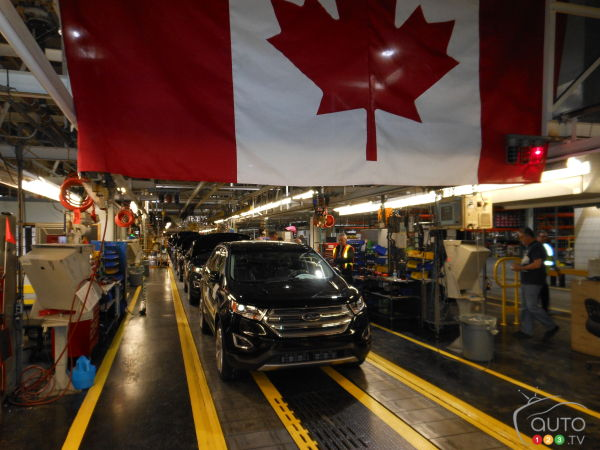 "2015 Ford Edge: Production starts for the new ""world"""