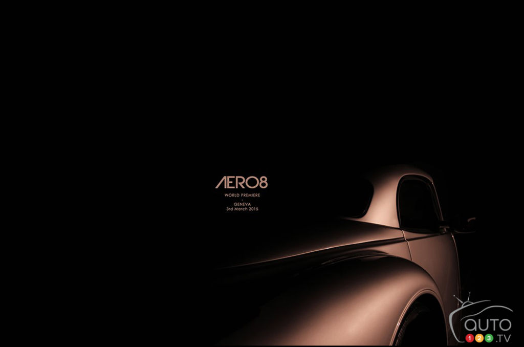 2015 Geneva Motor Show: All-new Morgan to be called Aero 8