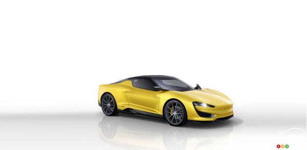 2015 Geneva Motor Show: Magna announces plug-in hybrid sports car