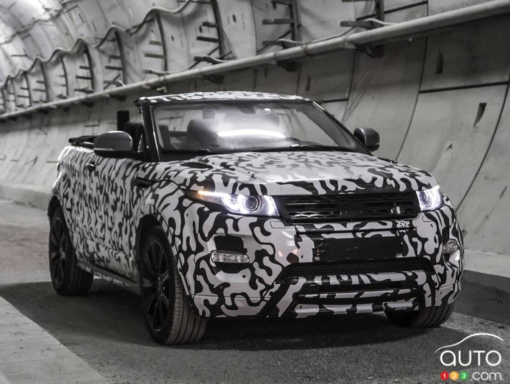 Land Rover confirms Range Rover Evoque Convertible production