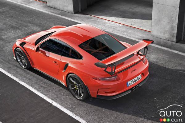 2015 Geneva Motor Show: Porsche 911 GT3 RS revealed