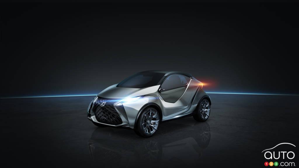 2015 Geneva Motor Show: World premiere of Lexus LF-SA concept