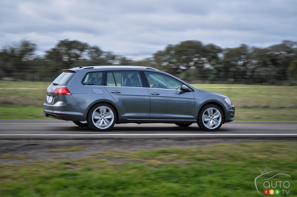 2015 Volkswagen Golf Sportwagon First Impression